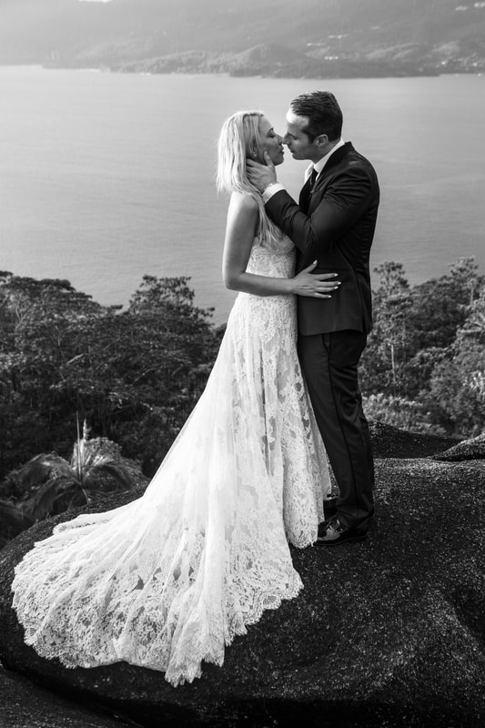 Four Seasons Seychelles Wedding